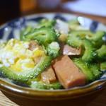 Okinawasakabaminsa - ゴーヤチャンプル