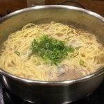 駱駝家 - 〆の麺