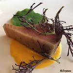 プチレストラン ブーケ・ド・フランス - スマガツオの燻製仕立