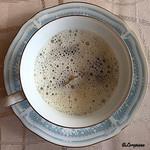 プチレストラン ブーケ・ド・フランス - カプチーノ仕立て鮑の白ワイン蒸しのリゾット