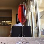 プチレストラン ブーケ・ド・フランス - カシスのノンアルコールスパークリング