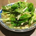 kawara CAFE&DINING - ちょこっとたたききゅうり