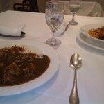 9737918 - 2011/10 パスタランチ(今週のスパゲッティーニ、サラダ又はスープ又は本日のデザート、コーヒー又は紅茶)1,575円