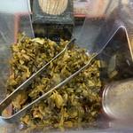 珍豚香 - 辛子高菜