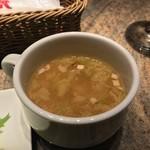 スペインクラブ銀座 - スープがつきます