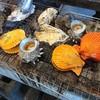 竹崎海産 - 料理写真:・緋扇、栄螺、牡蠣、、、ホンビノス