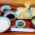 矢吉 - 天ぷら定食 ¥1400