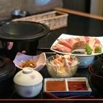 佳楽 - 天草大王の溶岩焼き定食