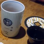 浅草一文 - お茶と日本酒(鍋島(選択肢多いです))