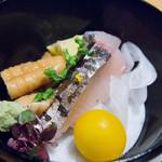 浅草一文 - 季節の天然魚の造り