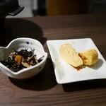 おばんざい 和菜 - ひじきと玉子焼き