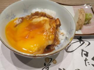 丹波篠山 近又 - 半熟卵♪