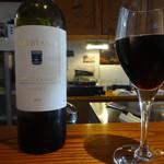 コモ バール - 赤ワイングラス