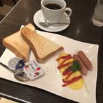 カフェ・アルコ スタツィオーネ - モーニングセット 550円