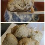 そばきり 萬屋町 助六 - 珍しい一品、蕎麦がきの天ぷら(笑)
