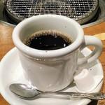 国産牛焼肉くいどん - ホットコーヒー