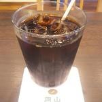 岡山珈琲館 - モーニングドック510円 アイスコーヒー