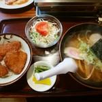 金盛軒 - 料理写真:カツ丼セット