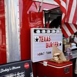 テキサスキングバーガー - 飲食ブース
