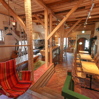 都会の中の山小屋!生木使用で、まるで自然の中にいるみたい!