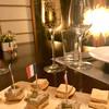 ロティスリー桂樹庵 - 料理写真:フォアグラとレバーパテのカナッペ。フランス国旗が可愛い