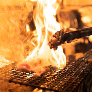 ◆自慢の逸品♪炭火焼きで楽しむ『厳選奥三河どり』