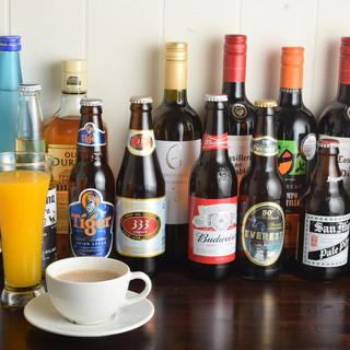 お店のこだわり4『世界のアルコール』