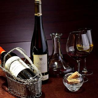 ワインを中心に、女性に嬉しい季節のノンアルコールカクテルも