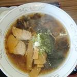 安比丸大食堂 - キノコ拉麺