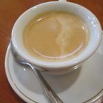 オステリア イル ペッシェ - ホットコーヒー