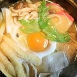大手新丁 - 鍋焼うどん 800円