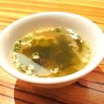Paradaisudainashithi - おわかめスープ