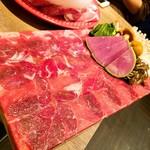 MERINO - 牛タン(これは最初の盛だけ)