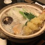 幸世庵 - 料理写真:鍋焼きうどん