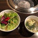97406370 - サラダ、スープ