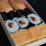 橋本家 - 料理写真:鮓折(すしをり)の内容(なかみ)