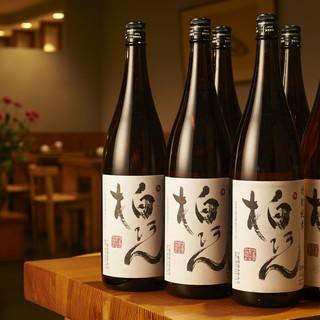 当店だけの美酒―。料理との相性を追求した≪日本酒柏庵≫。