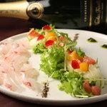 カスコロッソ - 鮮魚のカルパッチョ