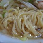 ラーメン二郎 - このスープで食べるデロ麺!好きです