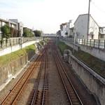 ラーメン二郎 - 向こうが大井町方面