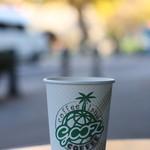 グーツ - コーヒーはテラス席で