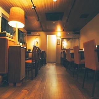 カフェ 寛味堂 - 女性の方お一人でも入りやすいお店です♪