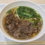 つつじ庵 - 料理写真:肉うどん 540円(税込)