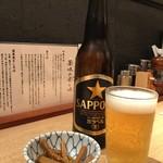 勝本 - ドリンク写真:ビール小瓶