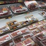 明治屋ジャンボ市 - 肉販売コーナー
