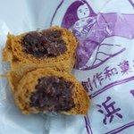 浜田製菓 - つぶ餡薄皮ですが、皮厚し