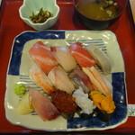 さかな屋 撰鮮 - 魚屋のにぎり(魚がし)12貫