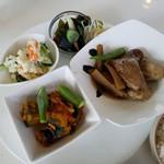 キッチン恵美 - 料理写真:魚ランチのメイン