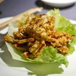 97424112 - 上海蟹の豆鼓(トウチ)炒め