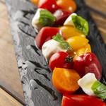 壺窯根DOUX - カラフルトマトのカプレーゼ